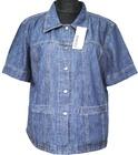 .Bluza damska jeans krótki rękaw (85) NEISON