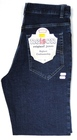 Spodnie damskie 40 granat jeans z lycrą (1142)